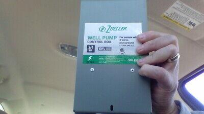 Zoeller Well Pump Control Box 1010-2337 34hp 230 Volts S.f. Max Amp 8.0