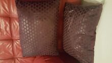 2 purple cushions with inserts North Perth Vincent Area Preview
