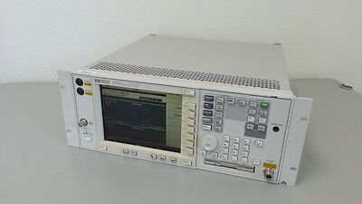Hpagilent E4406a Vsa Series Transmitter Tester 7 Mhz-4.0 Ghz Options Bac Bah