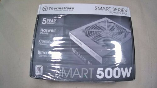 Thermaltake Smart 500W 80+ White Certified PSU,with 120mm Ultra Quiet Fan