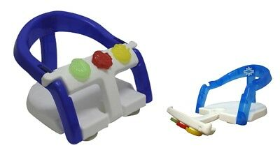 Baby Bath Seat NEW Fold away ring Toddler Child Safety support  ()