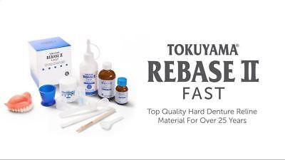 Tokuyama Rebase-ii Chair-side Hard-denture Partial-denture Kit Free Shipping