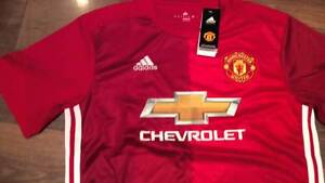MANCHESTER UNITED 2016-17 JERSEYS BRAND NEW W/ TAGS Sydney Region Preview