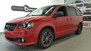 2014 Dodge Grand Caravan SXT BLACK TOP EDITION + DVD + JAMAIS AC