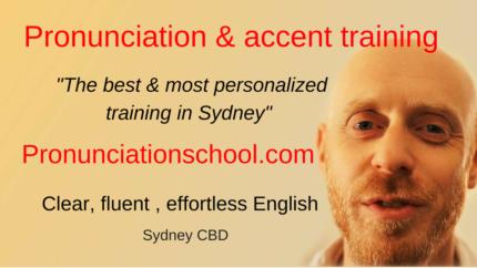 English Pronunciation & accent training - Pronunciation School