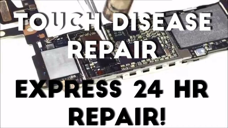 Apple Iphone 6 & 6 Plus Digitizer / Screen Touch Disease Ic Repair Full Service!