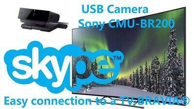 NEW!!! SONY CMU-BR200 USB Web TV Camera 720p HD ready for Smart TVs SONY BRAVIA® Sony Bravia Hd Ready Tv