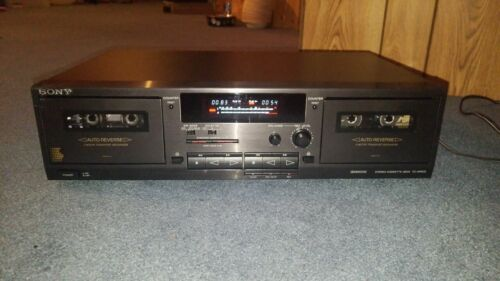 Sony TC-WR531 Stereo Cassette Deck.  {{{REFURBISHED}}}