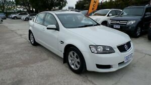 2011 Holden Commodore VE II MY12 Omega White 6 Speed Sports Automatic Sedan St James Victoria Park Area Preview