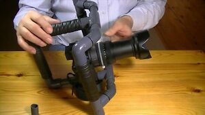 Custom PVC Camera Rigs, DSLR, GoPro, iPhone