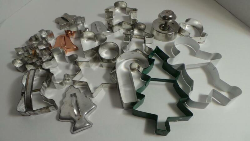 Vintage HUGE LOT of 25 Cookie Cutters - L@@K!!!