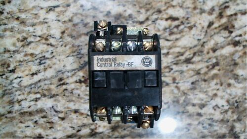 WESTINGHOUSE NBFD22S INDUSTRIAL CONTROL RELAY 300VDC 5072A49G04-FREE SHIPPING