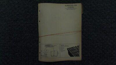 John Deere Jd S16 Subsoiler Parts Catalog Manual Pc431 6-54