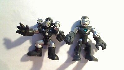 PLAYSKOOL HEROES MARVEL SUPER HERO ADVENTURES SET OF 2 WAR MACHINE