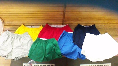vintage 70s Russell Athletic 100% cotton gym shorts usa made ADULT&YOUTH RARE