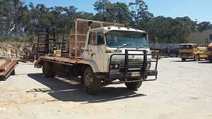 Isuzu Forward Truck with Sprung Ramps 5 Speed @ 2 Speed Diff Rathmines Lake Macquarie Area Preview