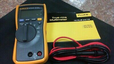 Fluke 110 Plus Digital Multimeterfree Shipping