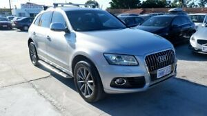 2015 Audi Q5 8R MY15 TDI S Tronic Quattro Silver 7 Speed Sports Automatic Dual Clutch Wagon St James Victoria Park Area Preview