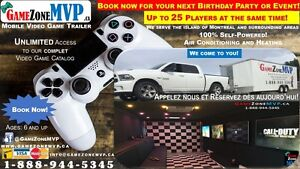 Video Game Party Trailer Rental