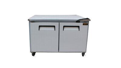 Cooltech 2-door Worktop Refrigerator Low Boy Cooler 60