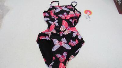 Butterfly Swimsuit Bathing Suit - TCP Children's Place SwimWear Bathing Suit 1Pc Black w/Butterflies UPick SZ NEW