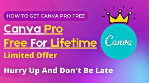 Canva PRO Unlimited LIFETIME Subscription - Graphic Design Platform