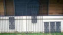 wrought iron fence, gate and wall panels Engadine Sutherland Area Preview