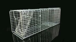 Animal Cage Trap Possum Cat Rabbit Bird Live Catch Bait Rat  66.5 x 25 x 26.5cm