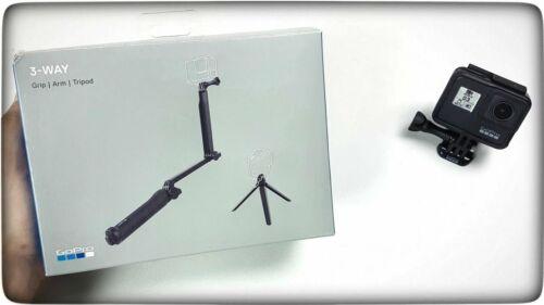 Authentic GoPro 3-Way Grip, Arm, Tripod Camera Mount & Selfie Stick USED