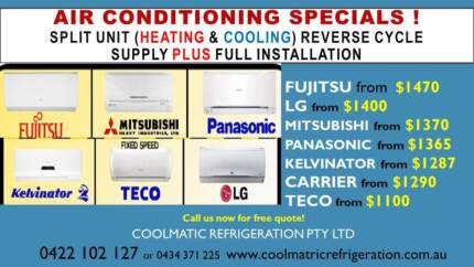 Coolmatic Refrigeration Pty Ltd / Air Conditioning Installations