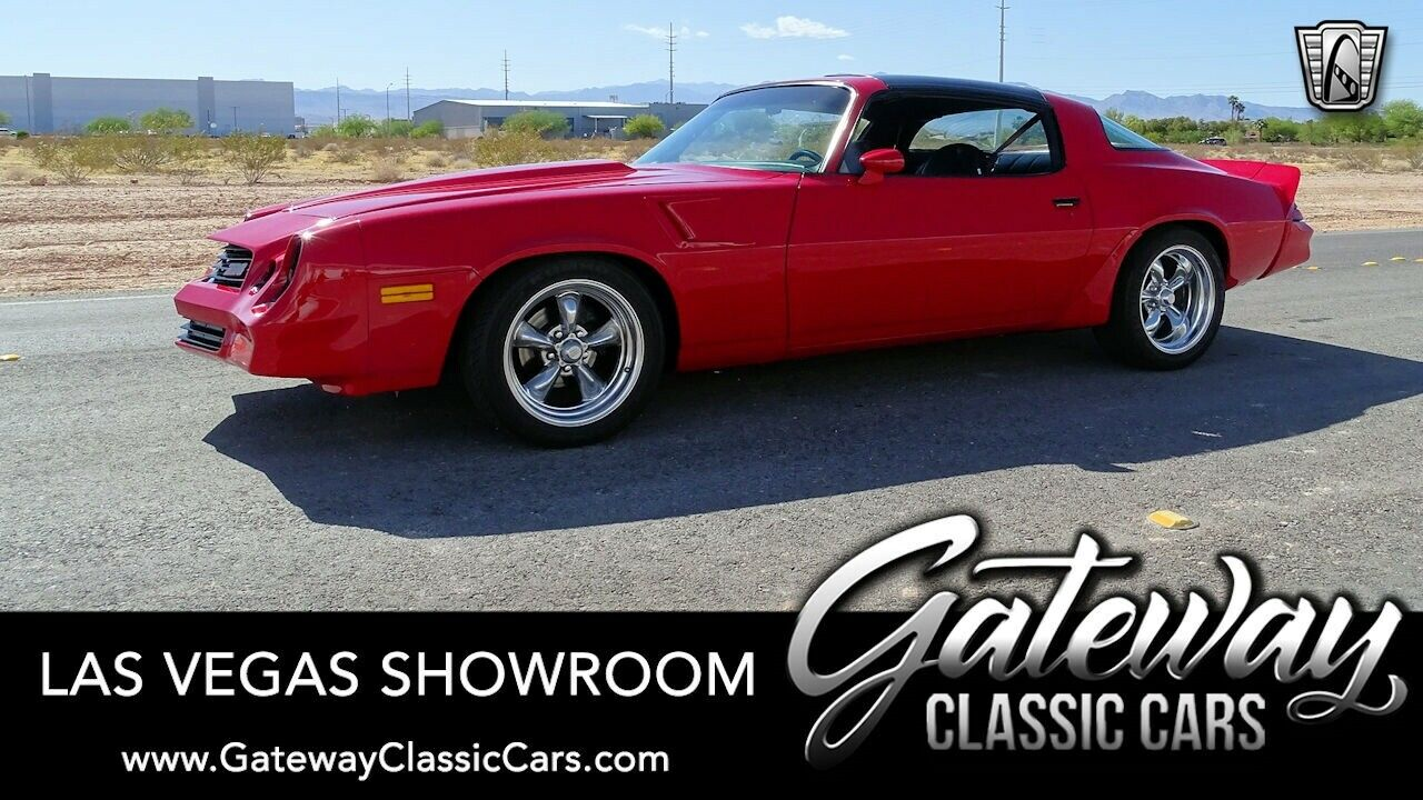 Red 1979 Chevrolet Camaro  5.7 Liter V8 TH350 Automatic Available Now!