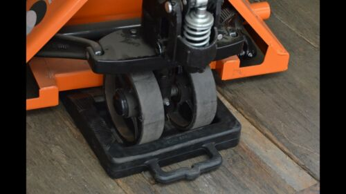 Pallet Jack Stop Stopper Chock Rubber BLOW OUT Ships from USA