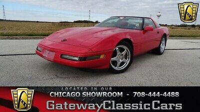 1991 Chevrolet Corvette  Red 1991 Chevrolet Corvette Coupe 5.7L V8 6 Speed Manual Available Now!