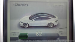Ladeleistung am Supercharger