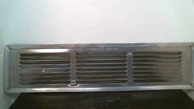 "Air Vent 22108 Under-eave 16"" x 4"" Aluminum, FREE SHIPPING"