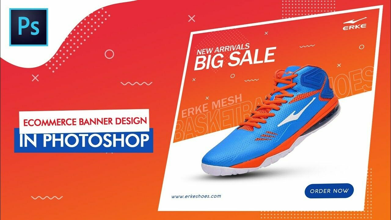 I Will Design E Commerce Web Banner Social Media Post - $9.99