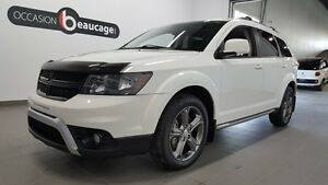 2014 Dodge Journey Crossroad AWD, cuir, toit ouvrant