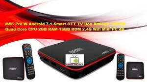 M8S Pro W Android 7.1 Smart OTT TV Box Amlogic S905W Quad Core C Doveton Casey Area Preview