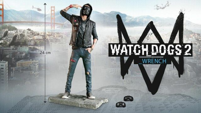 Wrench (Watch Dogs 2) Ubicollectibles Figurine Brand New Figure - 1st Class Del