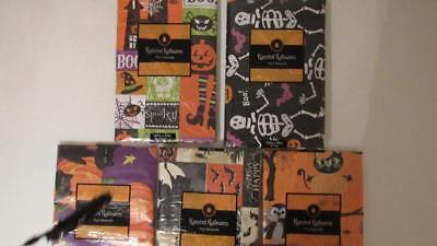 Halloween Vinyl Tablecloth (Halloween Vinyl Tablecloth 4 Styles Jack-o-Lantern Pumpkins Spider Skeleton)