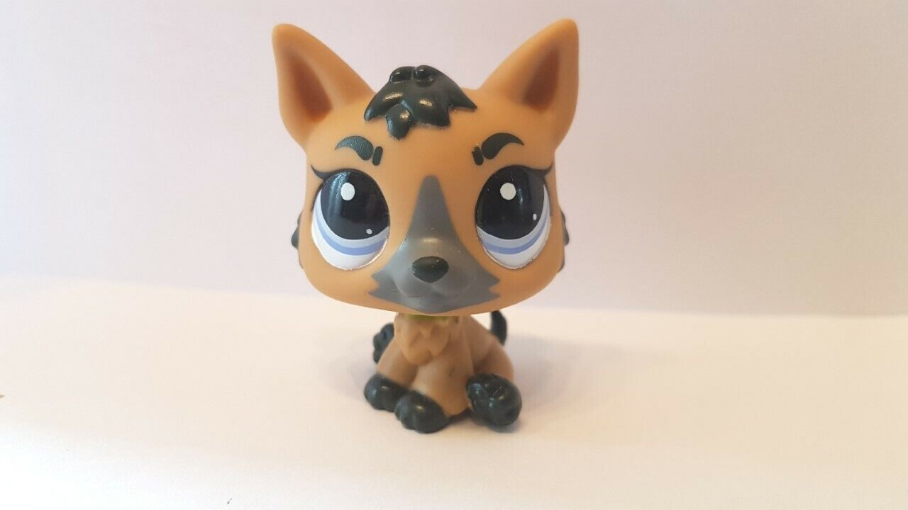 Figurine  petshop  original  chien dog berger allemand 3562 pet shop lps
