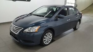 2015 Nissan Sentra S, A/C, bluetooth, régulateur ONE OWNER