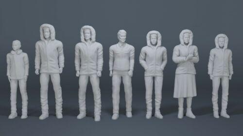 Lost In Space Robinson 1st Season Parka Set 1:24 Moebius Lunar Models 3D printed