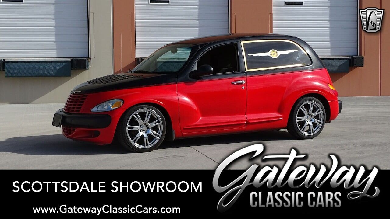 Black/Red  2001 Chrysler PT Cruiser  Actual Miles, Numbers Matching 2.4l Inline