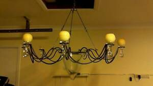 9 Arm Candle Chandelier Bonogin Gold Coast South Preview