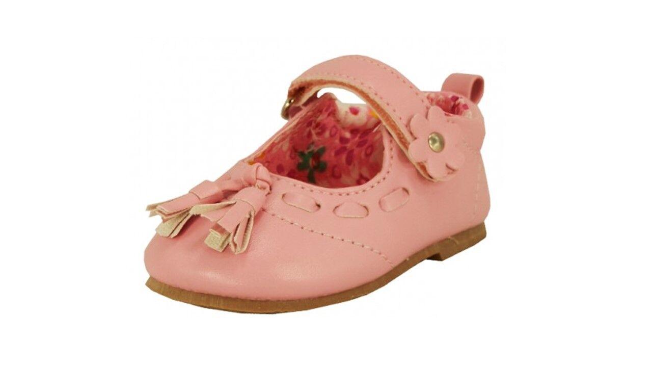 Baby Toddler Girl Sandals Hook & Loop Strap Tassel Mary Jane