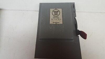 30 Amp 600 Volt Non Fusible Disconnect Switch