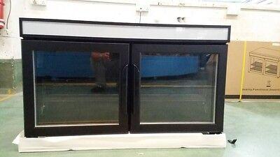 Lot of 60! COMMERCIAL GROCERY ON-SHELF COOLER GLASS DOOR REFRIGERATOR