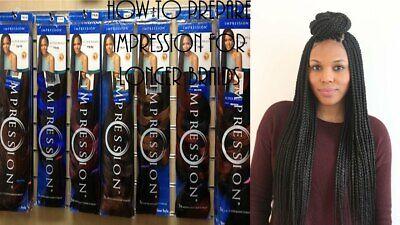 "(2 PACK) IMPRESSION Super Braid Hair Extension - 86"" Length"
