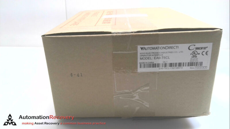 AUTOMATION DIRECT EA9-T6CL TOUCH SCREEN HMI, NEW #280128